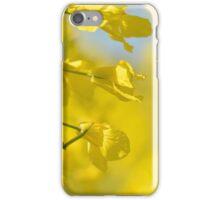 Canola Yellow Is Like Sunshine iPhone Case/Skin