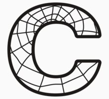 Spiderman C letter by Stock Image Folio