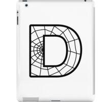 Spiderman D letter iPad Case/Skin