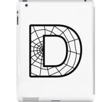 Spiderman D letter iPad Case/Skin