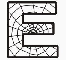 Spiderman E letter T-Shirt