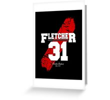 Fletcher Sash Greeting Card
