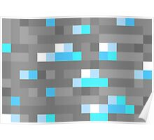 Minecraft Diamond Block Everything! Poster