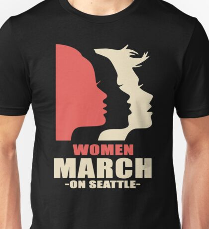 Women's March on Seattle Unisex T-Shirt