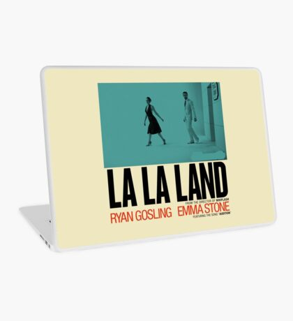 La La Land Rian Gosling And Emma Stone Laptop Skin