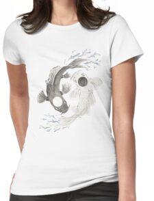Yin Yang Womens Fitted T-Shirt