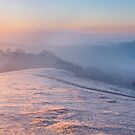 Mist over Eastnor, Herefordshire England by Cliff Williams