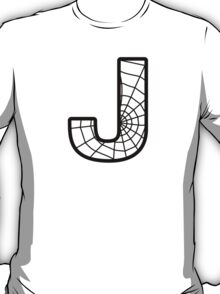 Spiderman J letter T-Shirt
