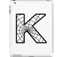 Spiderman K letter iPad Case/Skin