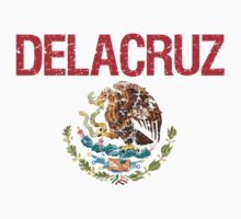 Delacruz Surname Mexican Kids Clothes