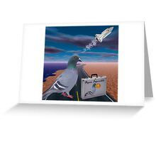 """☞ º°""""˜`""""°☜♥☞ PIGEON IMPOSSIBLE >PILLOWS,PICTURE,TOTE BAG ☞ º°""""˜`""""°☜♥☞ Greeting Card"""