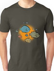 helicopter fishes are coming! Unisex T-Shirt
