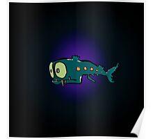 lantern fish Poster