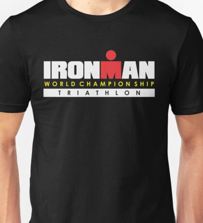IRONMAN TRIATHLON WORLD CHAMPIONSHIP Unisex T-Shirt