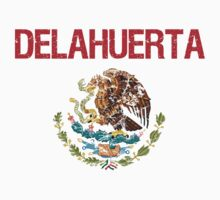 Delahuerta Surname Mexican Kids Clothes