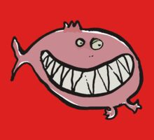 piranha One Piece - Short Sleeve