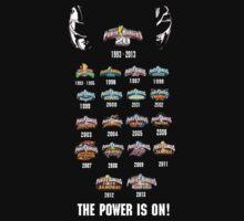 Power Rangers 20th Anniversary by Joe Bolingbroke