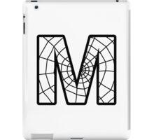 Spiderman M letter iPad Case/Skin