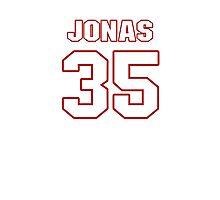 NFL Player Jonas Gray thirtyfive 35 Photographic Print