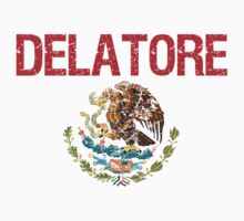 Delatore Surname Mexican Kids Clothes