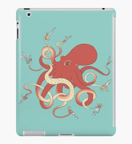 Swiss Army Octopus iPad Case/Skin