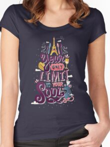 Your Only Limit Is Your Soul Women's Fitted Scoop T-Shirt