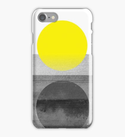 Yellow #abstract  iPhone Case/Skin