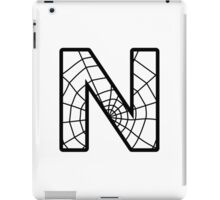 Spiderman N letter iPad Case/Skin