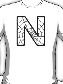 Spiderman N letter T-Shirt