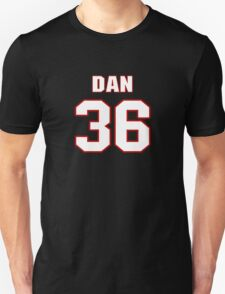 NFL Player Dan Herron thirtysix 36 T-Shirt