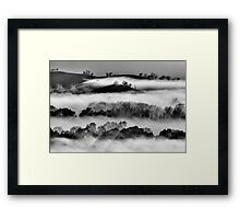 High Country Foothills Framed Print