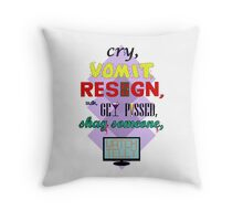 What Would Gill Murray Do? Throw Pillow