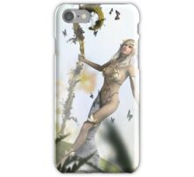 Druid and Butterflies iPhone Case/Skin