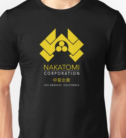 Nakatomi Corporation - Los Angeles California Unisex T-Shirt