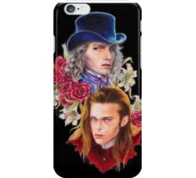 a fanart of Luis and Lestat iPhone Case/Skin
