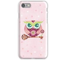 Spring Blossom Owl iPhone Case/Skin
