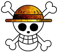 One Piece Luffy's Flag by ZipZapAttack