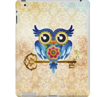 Spring Guardian Owl iPad Case/Skin