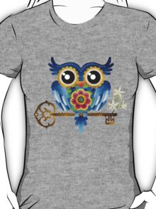 Spring Guardian Owl T-Shirt