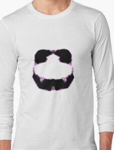 Rorschach inkblot 11 Long Sleeve T-Shirt