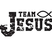Team Jesus Photographic Print
