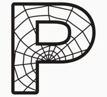Spiderman P letter Kids Tee