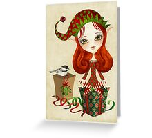 Jollybelle Elf Greeting Card