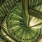 Green Staircase by mlphoto
