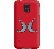 narwhales and donuts Samsung Galaxy Case/Skin