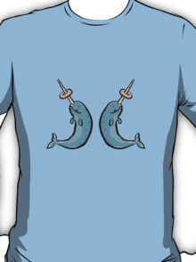 narwhales and donuts T-Shirt