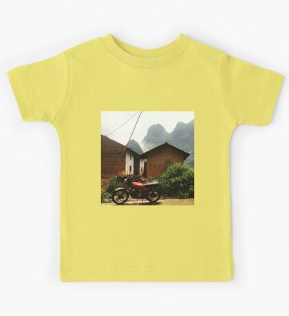 Motorbikes and Mountains Kids Tee
