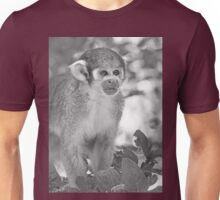 Monkeys  (n&b)(h) Olao-Olavia / Okaio Créations Unisex T-Shirt