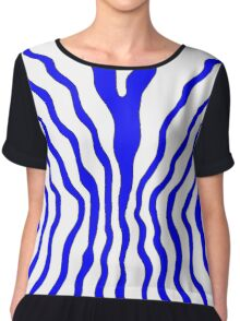 Flow - blue Women's Chiffon Top
