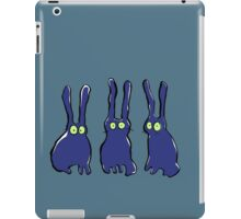 3 bunnies iPad Case/Skin
